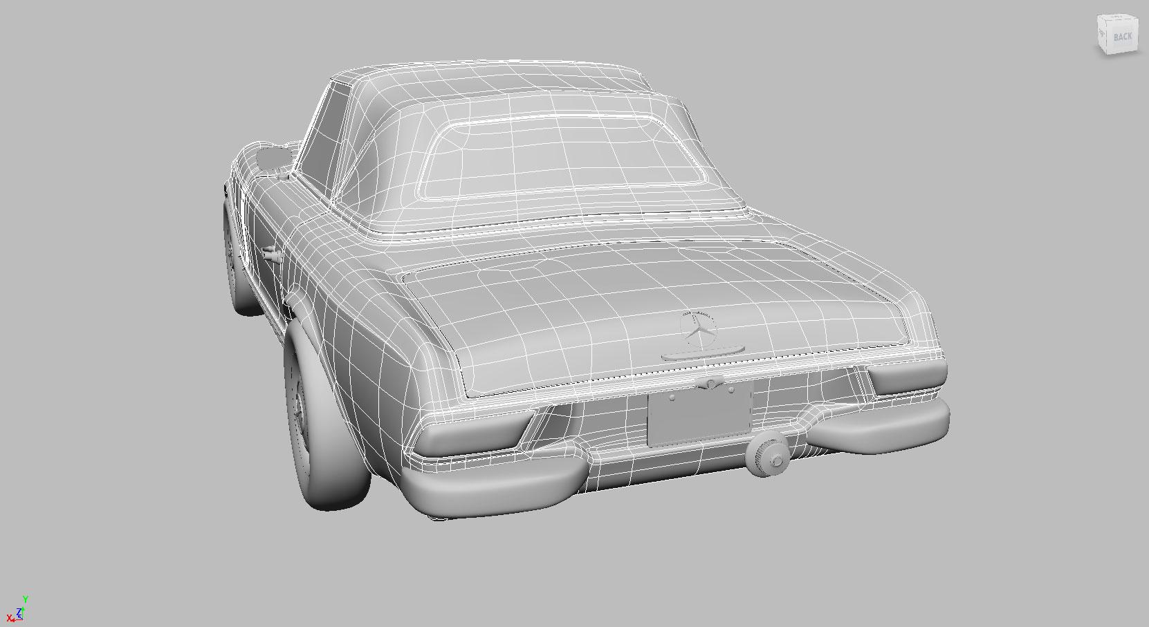 CRC 2016 – Mercedes-Benz W 113 230SL